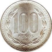 100 pesos -  revers
