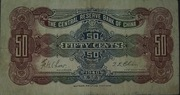 50 Cents (Central Reserve Bank of China) – revers