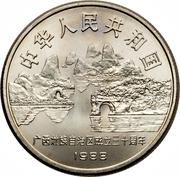 1 yuan (Guǎngxi) – avers
