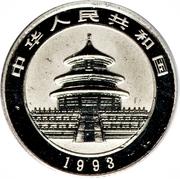 "10 Yuán (""Panda"" Platinium Bullion Coinage) – avers"