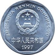 1 jiao (Tian'anmen) – avers