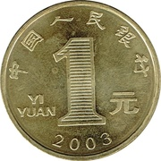 yuan – avers