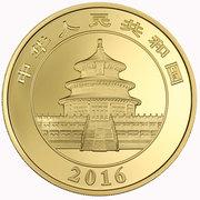 10000 Yuan (Panda; Gold Bullion Coinage) – avers