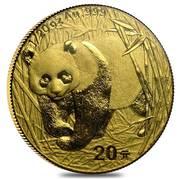 20 Yuan (1/20 Ounce Panda) – revers