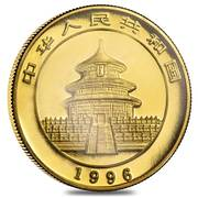 "10 Yuan (""Panda"" Gold Bullion Coinage – avers"