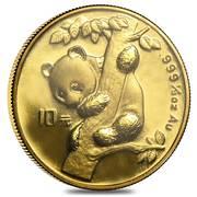 "10 Yuan (""Panda"" Gold Bullion Coinage – revers"