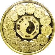 2000 Yuan (Lunar Series) – revers