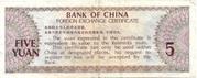 5 yuan (FEC) – revers