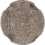 2 Jiao - Guangxu (Pattern; nickel) – revers