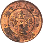 1 jiao / 10 cents – avers