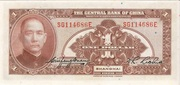 1 Yuan 1928 – revers