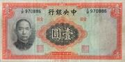 1 Yuan -  avers