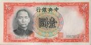 1 Yuan – avers