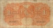 1 Yuan (Bank of China) – revers