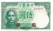 5 Yuan (Central Bank of China) – avers