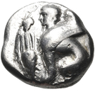 Drachm (Chios) – avers