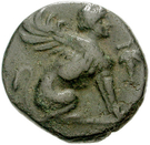 Bronze Æ17 (Chios) – avers