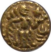 2 Fanams - Raja Raja (Chola Empire) -  avers