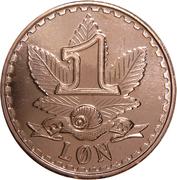 1 Løn -  avers