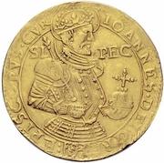 7 ducat - Johann V – avers