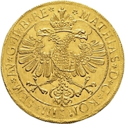 7 ducat - Johann V – revers