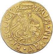 1 goldgulden - Johann V – avers
