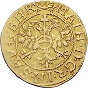 1 goldgulden - Johann V – revers