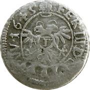 1 kreuzer Johann VI Flugi von Aspermont – revers