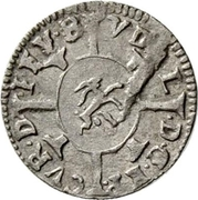 1 kreuzer - Ulrich VII – avers
