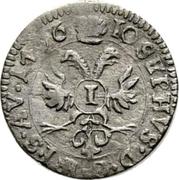 1 kreuzer - Ulrich VII – revers