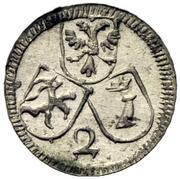 2 Pfennig (Joseph benedikt von Rost) – avers
