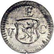1 pfennig - Ulrich VII – avers