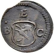 1 pfennig - Joseph Benedikt – avers