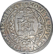 1 thaler - Ferdinand II – avers