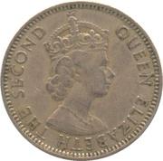 50 mils - Elisabeth II -  avers