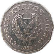 ½ cent - République -  avers