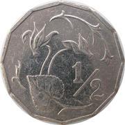 ½ cent - République -  revers