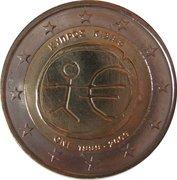2 euros Union économique et monétaire – avers