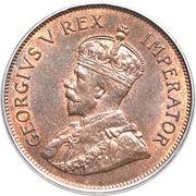 1 piastre - George V – avers