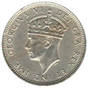 1 shilling - Georges VI – avers