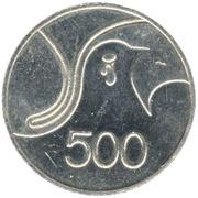 500 mils - République FAO – revers