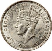 18 piastres - George VI – avers
