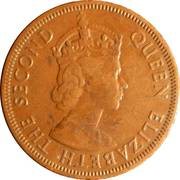 5 mils - Elizabeth II -  avers
