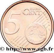 5 cents d'euro -  revers