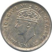 4½ piastres - George VI – avers