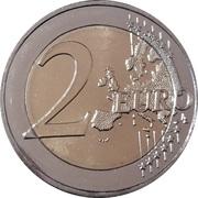 2 euros Institut de neurologie et de génétique -  revers