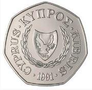 50 cents - République -  avers