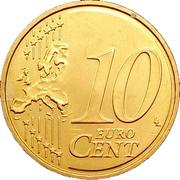 10 cents d'euro -  revers