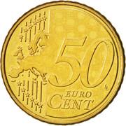 50 cents d'euro – revers