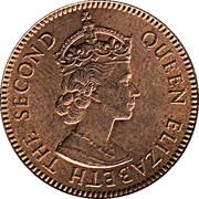 3 mils - Elizabeth II -  avers